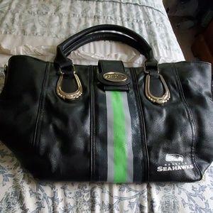 Limited edition Bradford exchange seahawk purse